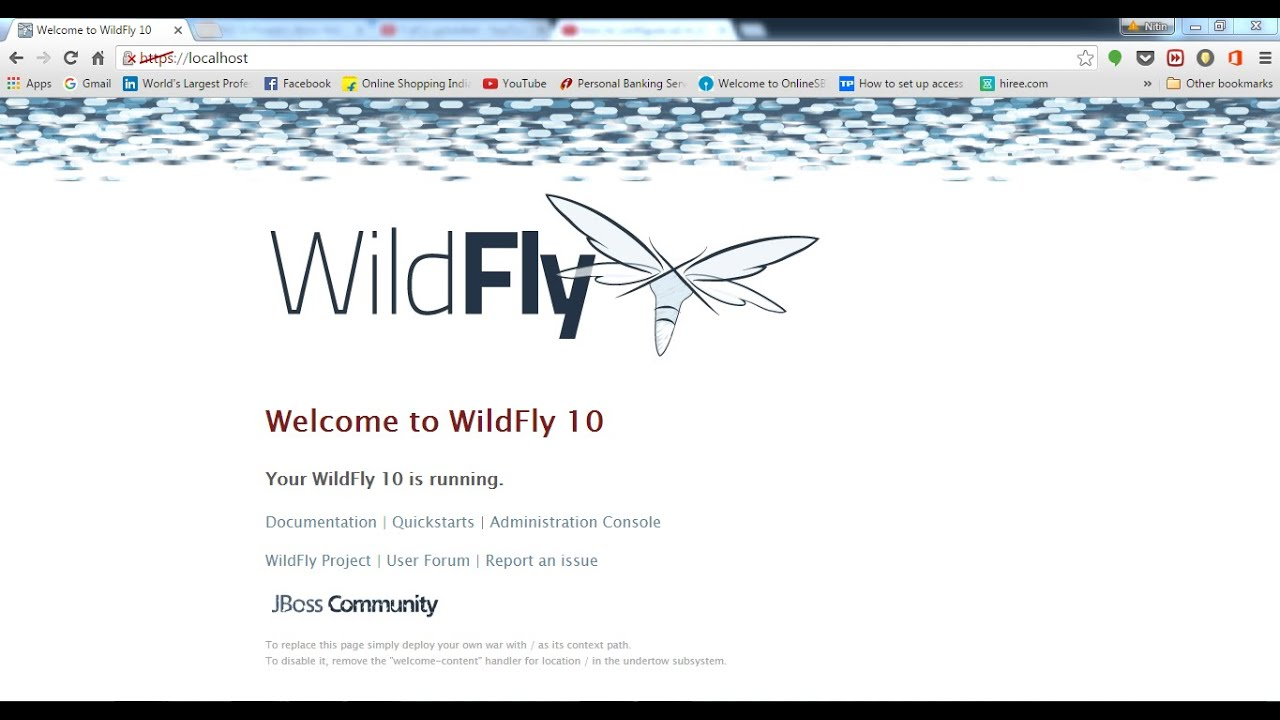 How to configure SSL in WildFly 10 standalone mode and change default ssl  port to 443