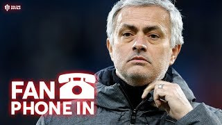 It's our LIVE Fan Phone In! Does the Jose Mourinho Media Agenda Exi...