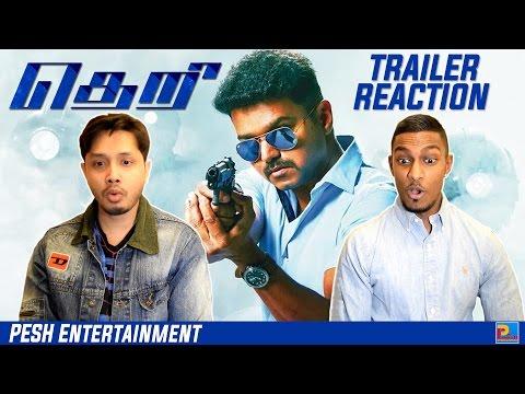 Theri Trailer Reaction & Review | Vijay |...