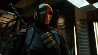 Стрела против Дефстроука первая встреча в сериале