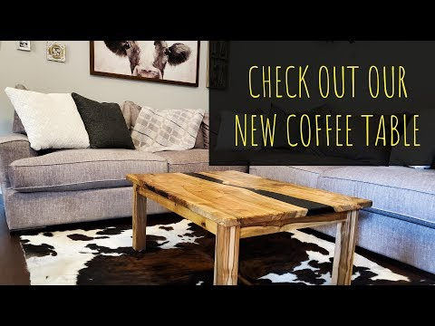Let Me Walk You Through This Epoxy Coffee Table Build