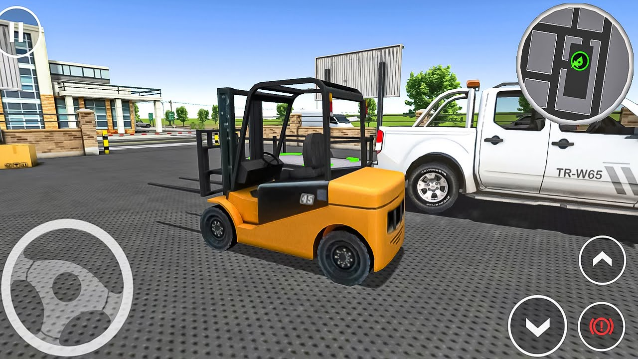 Drive Simulator - Forklift on Pickup! Construction Vehicles Simulator #1 Android gameplay