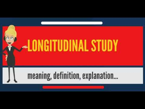 What is LONGITUDINAL STUDY? What does LONGITUDINAL STUDY mean? LONGITUDINAL STUDY meaning