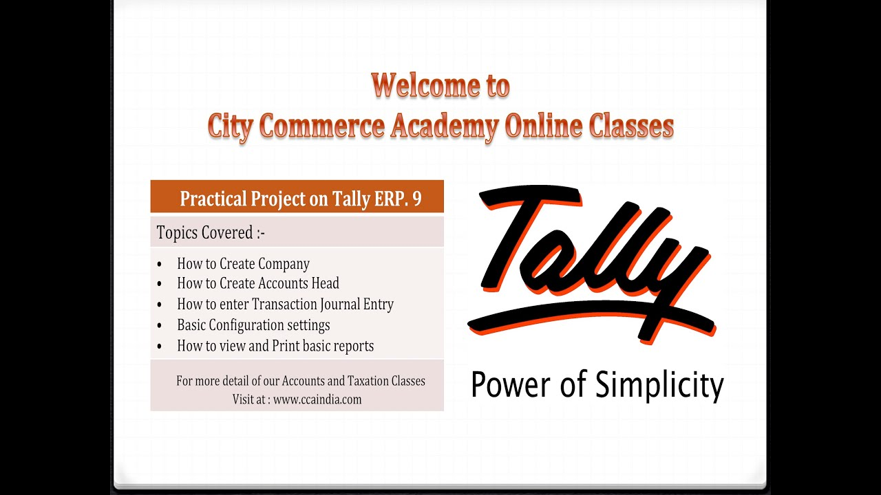 tally erp 9 full tutorial with practical project practice material rh youtube com