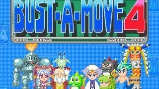 TAP (PS) Bust A Move 4 - Vs Computer - Story Mode (Very Hard & Expert) Play as Bub 1A/?