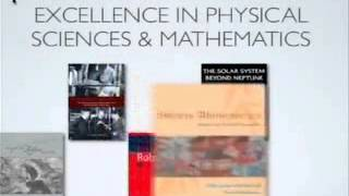 2008 PROSE Award for Excellence in Physical Science & Mathematics - 5 Feb 2008