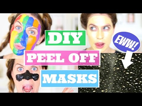 DIY PEEL OFF FACE MASKS You NEED To Try!