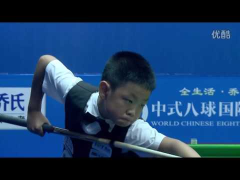 Xia Liao VS Zhang Yuliang - World Chinese 8 Ball Masters Tour 2016-2017 Stage 3 Tieling