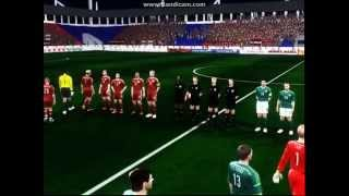 PES6 Greece World Cup 2014 Qualifiers - Latvia vs Nothern Ireland