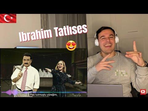 Italian Reaction to 🇹🇷 Ibrahim Tatlıses \u0026 Adele Mashup - Rolling in the Deep (Mavisim)