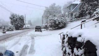 Snowstorm in Everett, WA - Jan 17th, 2012