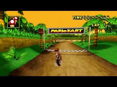 Download 【MKW  WR】 N64 DK's Jungle Parkway (Spiral Skip) - 2:09.531 - Thomas