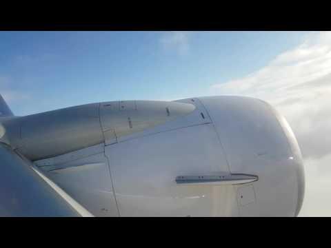 Ryanair FR200 Boeing 737-8 fog landing on Brussels South Charleroi Airport 4K video
