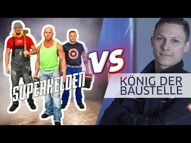 [AVENGERS PARAODIE] - SUPERHELDEN vs. KÖNIG DER BAUSTELLE... Wer gewinnt?