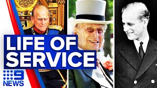 The Queen mourns husband of 73 years | 9 News Australia