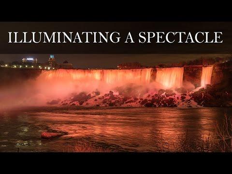 Niagara Falls Illumination - The Story Of Lighting Niagara Falls