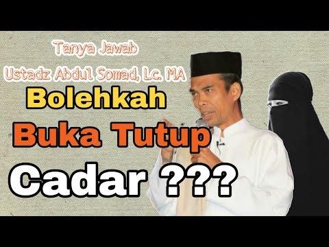Bolehkah Tutup Buka Cadar?? Ustadz Abdul Somad Menjawab