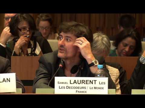 Panel 3 - Samuel Laurent, Head, Les décodeurs, Le Monde, France