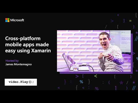 Visual Studio 2019 Launch: Cross-platform IOS & Android Development With Xamarin