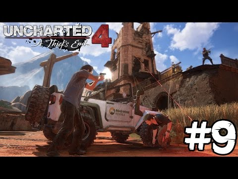 TOMEN ESA TORR CARAJO! | PS4 | UNCHARTED 4 #9