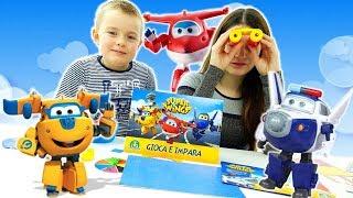 Calza Giocattoli Super Wings: Tanti Giochi Per I Piccoli Esploratori - Giocattoli Per Bambini