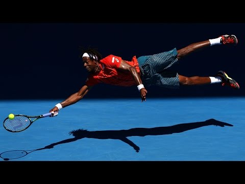 Gael Monfils, the flying Frenchman | Australian Open 2016