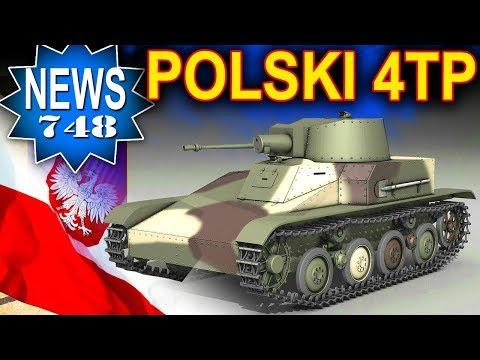 Polski 4TP jako jedynka a na szczycie ciężkie projekty WAT! - NEWS - World of Tanks