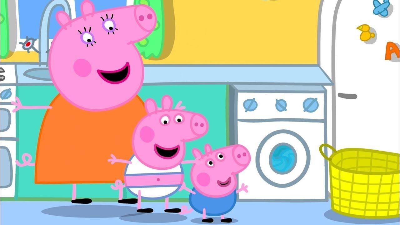 Peppa Pig | Yıkama | Çocuklar için Çizgi Filmler | En iyi bölümler