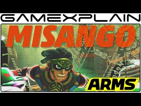 ARMS - Misango Reveal Trailer (4.0 Update + New Stage!)