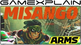 ARMS - Misango Reveal Trailer (4.0 Update + New Stage!) thumbnail