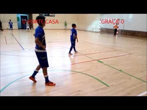 FORTE DA CASA vs GRAÇA (MELHORES MOMENTOS DO GRAÇA)               8-3