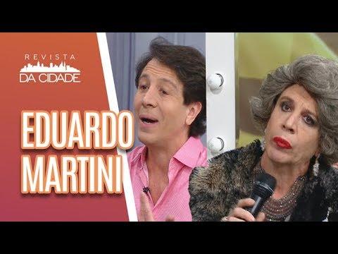 Eduardo Martini E Neide Boa Sorte - Revista Da Cidade (08/06/18)