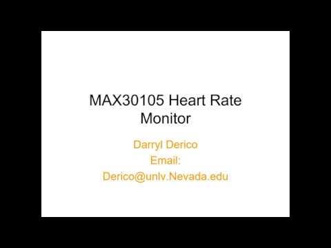 MAX30105 Heart Rate Monitor Presentation