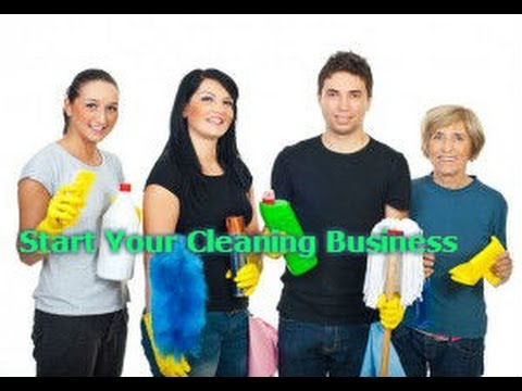 How To Start Your Own Cleaning Business Get Dvds Today
