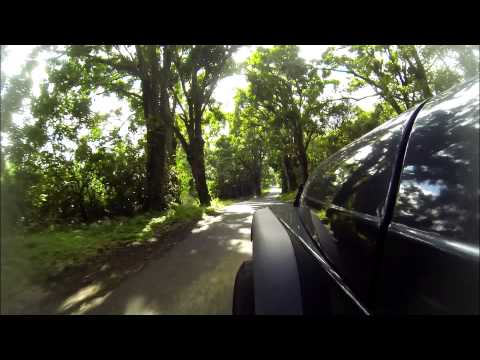 Driving from Kapoho to Pahoa with the GoPro in Hawaii