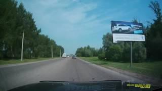 Авария при выезде из Салавата (28.05.16 г.)