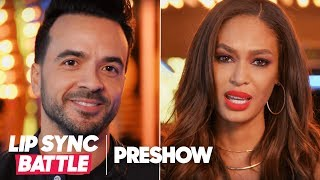 Luis Fonsi vs. Joan Smalls - Puerto Rican Pride🇵🇷! | Lip Sync Battle Preshow