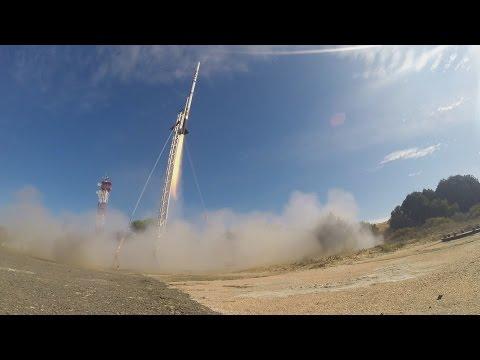 Stratos II+ Rocket launch to 21.5 km