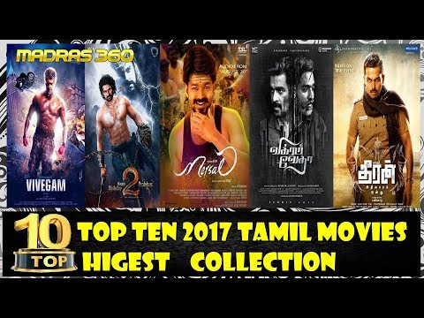 Top Ten Tamil Movies  Higest Collection...