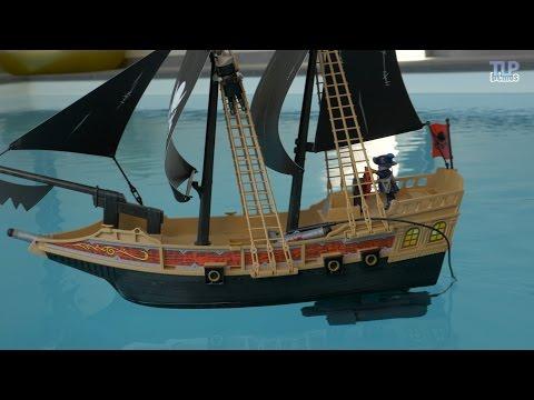 Ténèbres Playmobil6678Le Rc Bateau Démo En Des Pirate Avec 0PX8Ownk