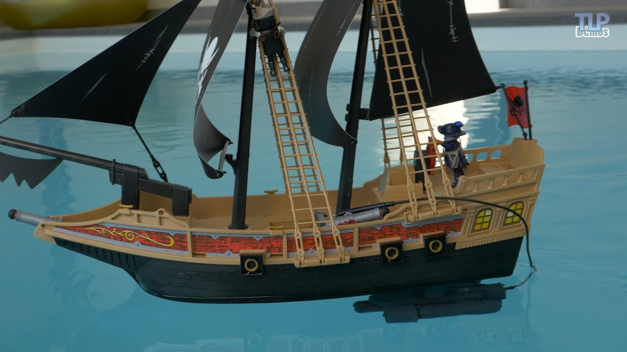 playmobil 6678 le bateau pirate des t n bres d mo avec. Black Bedroom Furniture Sets. Home Design Ideas