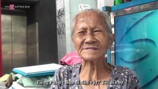 Cụ già 87 tuổi nói tiếng Anh như gió
