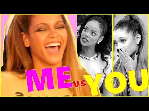Beyoncé: Me Vs You