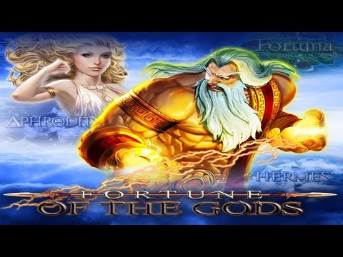 Slot Machines UK - Fortune of the Gods with FREE SPINS and BIG GAMBLES