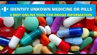 5 Best Website to Identify Unknown Medicine.