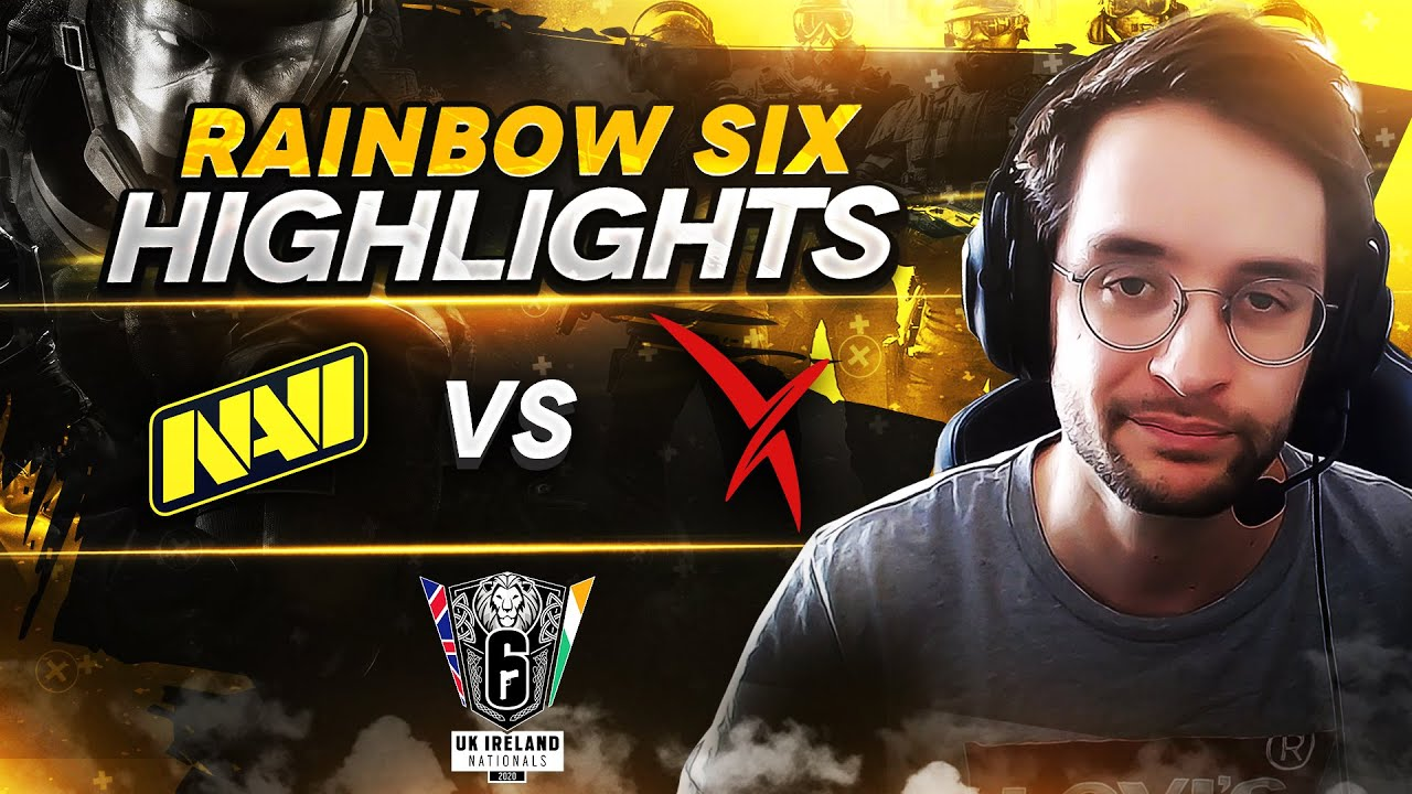 Rainbow Six Highlights: NAVI vs Vexed Gaming @ UK Ireland Nationals