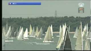 Rolex Fastnet Race 2013 - start of the IRC Class 3
