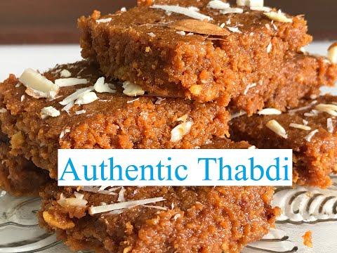 गुजरात की मशहूर थाबडी की रेसिपी   Gujarat Famous Thabdi Recipe   Tamanna's Veg Club