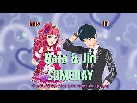 Nara & Jin (SMROOKIES & Onestar) - Someday (Lyrics Indonesian Language)