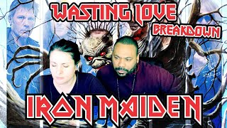 IRON MAIDEN Wasting Love Reaction!!